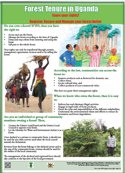 Enhancing Forest Tenure and Governance in Uganda